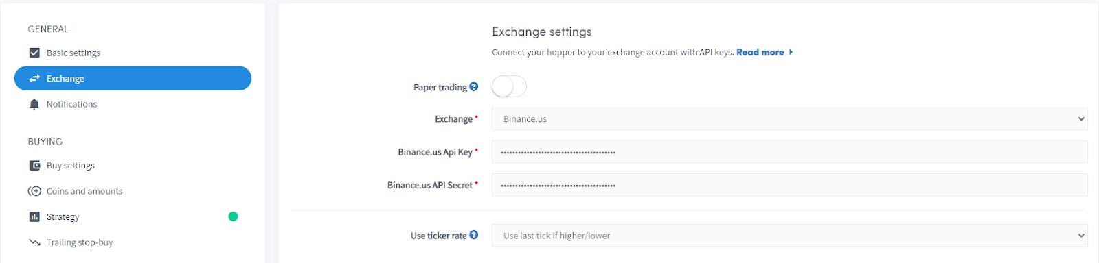 Binance CZ US exchange pro Automated automatic trading bot platform crypto cryptocurrencies Cryptohopper bitcoin ethereum