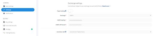Hit btc HitBTC exchange pro Automated automatic trading bot platform crypto cryptocurrencies Cryptohopper bitcoin ethereum