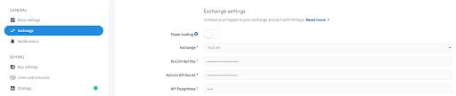 Kucoin exchange pro Automated automatic trading bot platform crypto cryptocurrencies Cryptohopper bitcoin ethereum