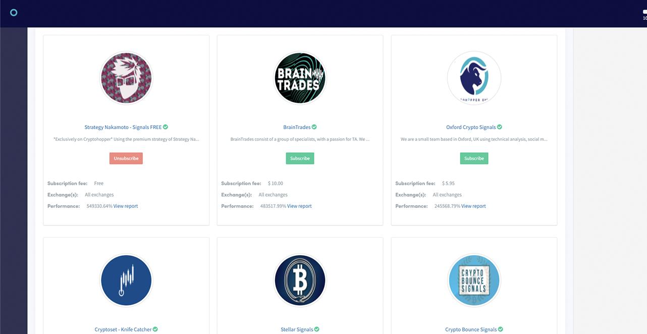 trading bots automated automatic crypto cryptocurrency bitcoin ethereum trading bot platform cryptohopper