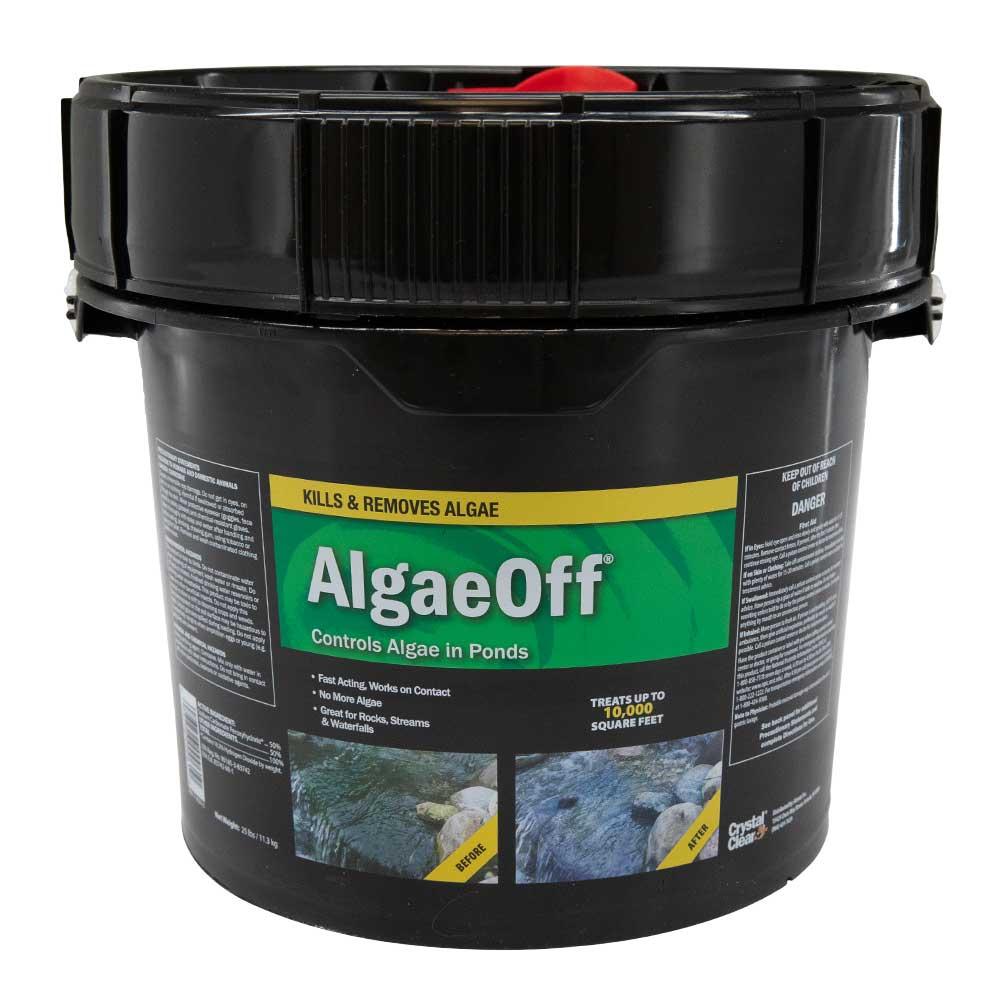 CrystalClear AlgaeOff, 25 Pound Bucket