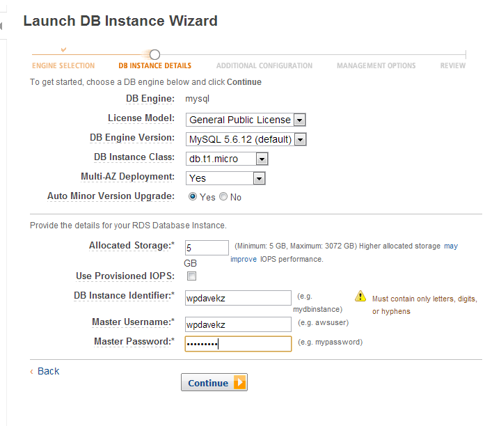 Scaling Out: WordPress and Amazon's Relational Database