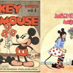 Old New Mickey Mouse