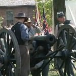 Civil War Re-enactment at Greenfield Village in Dearborn, MI