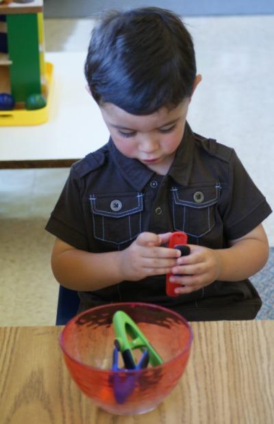 Toddler Luis Rodriguez