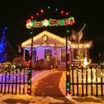 Dearborn Aglow. Homeowners encouraged to display Christmas holiday lights.