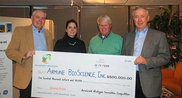 Armune Bioscience 500000 Award