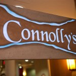 Connolly's Sign at Oakwood Common