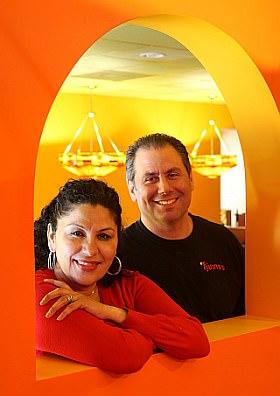 Marisa Garcia and husband Steve Guzina