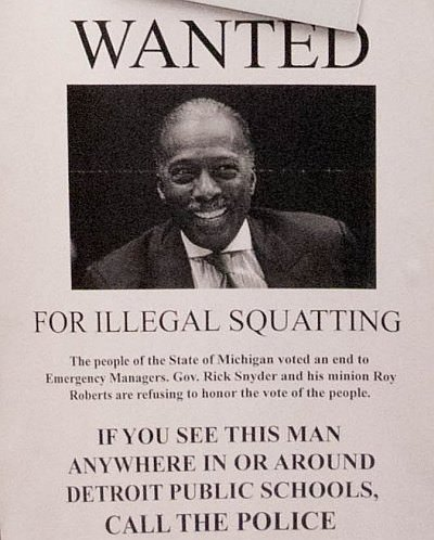 Roy Roberts - Wanted for Illegal Squatting