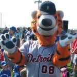 Detroit Tiger Mascot - Paws