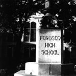 Fordson High School Flagpole