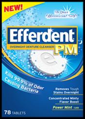 EFFERDENT  PM 78