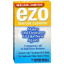 EZO DENTURE LINERS UPPERS 12