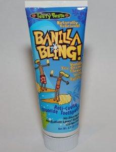 BANILLA BLING TOOHPASTE