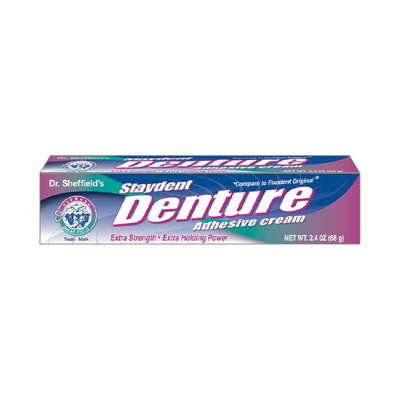 DR SHEFFIELD'S STAYDENT DENTURE CREAM