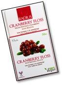 RADIUS CRANBERRY DENTAL FLOSS