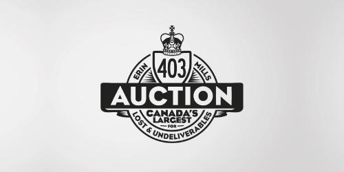 MS 447 Auction | Identity design