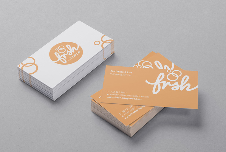 How to design the perfect business card non profit organization business card design by hypdesign colourmoves