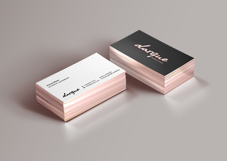 Beauty Business Card Design by HYPdesign