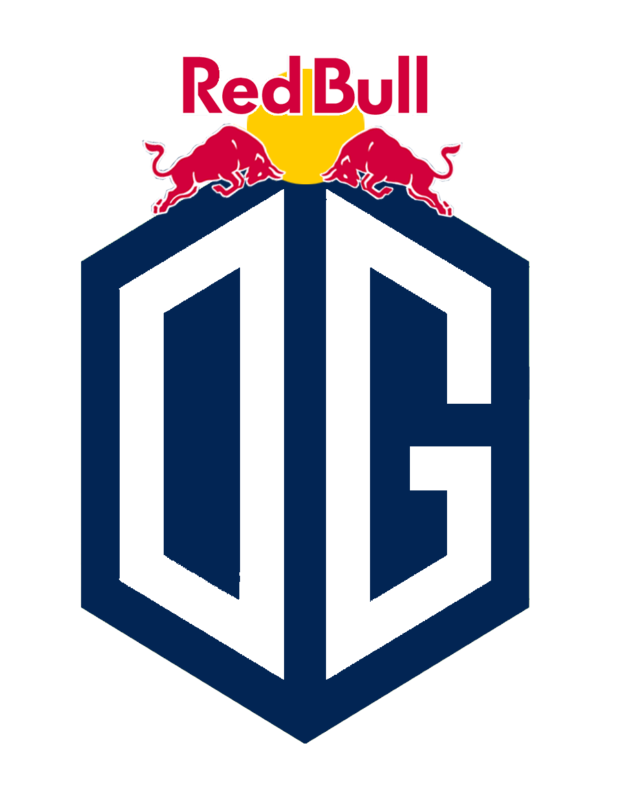 red bull og logo - logo team fortnite png