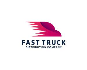 Pink Logo Design by Brandshop