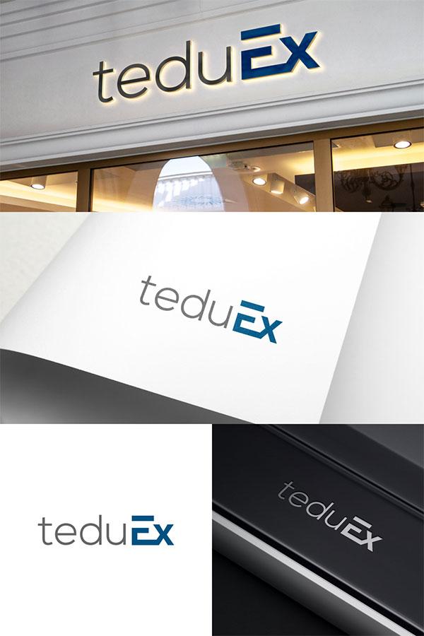 Typography Logo Design by Untung Bertubi-Tubi
