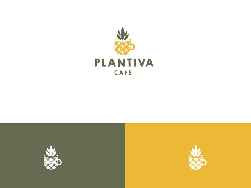 Pineapple Logo Design by Birdcage