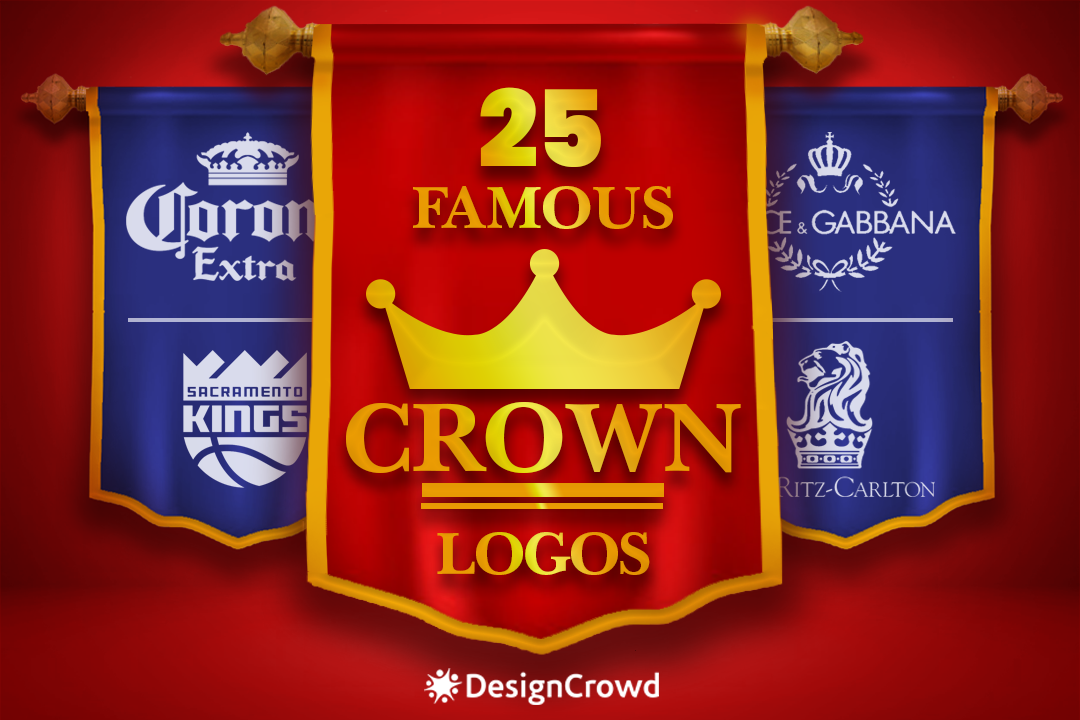 25 Famous Crown Logos blog thumbnail