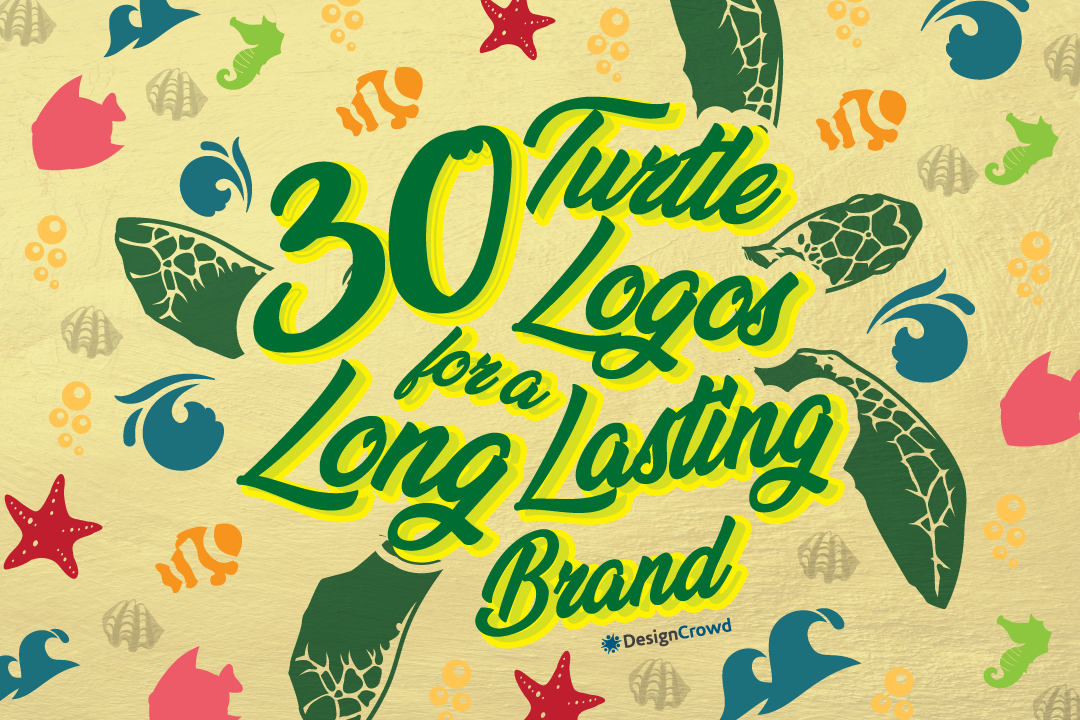 30 Turtle Logos for a Long Lasting Brand blog thumbnail