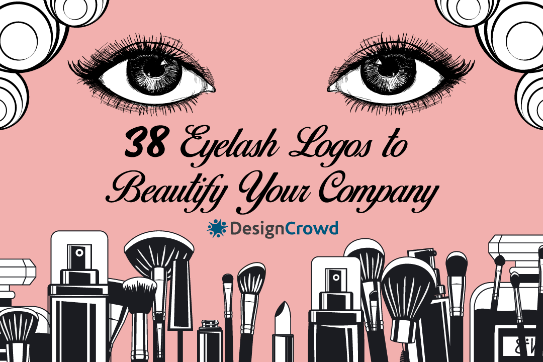 38 Eyelash Logos to Beautify Your Company blog thumbnail