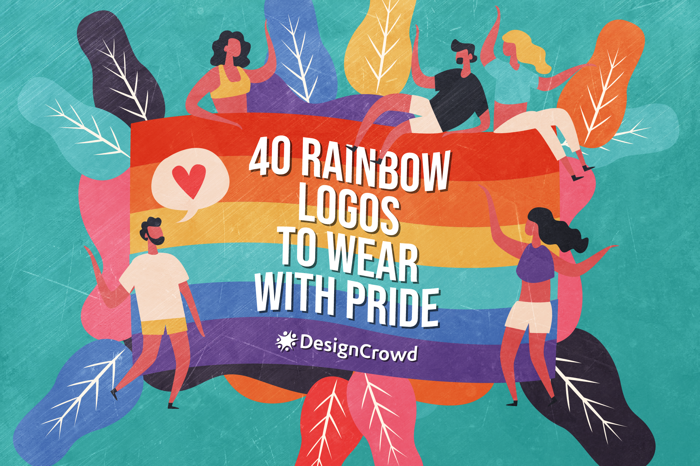 40 Rainbow Logos To Wear With Pride blog thumbnail