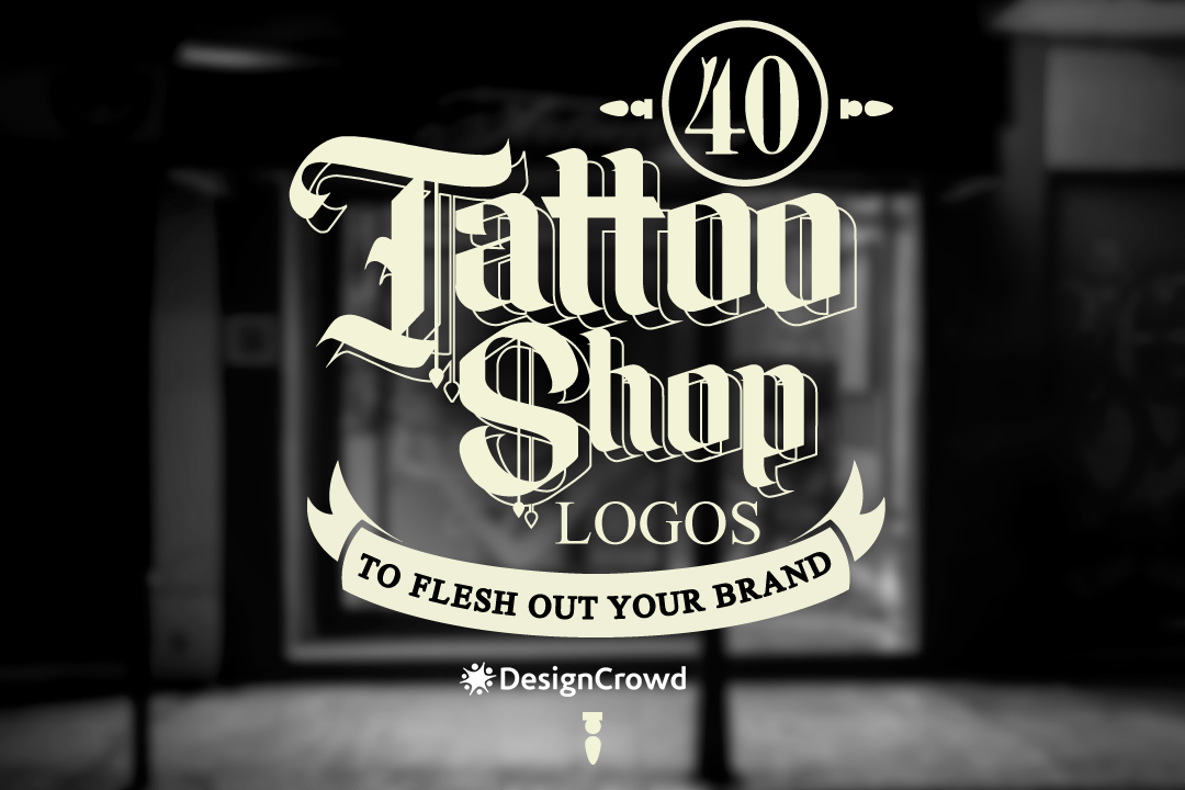 40 Tattoo Shop Logos to Flesh Out Your Brand blog thumbnail