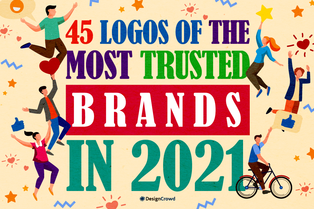 45 Logos of the Most Trusted Brands in 2021 blog thumbnail