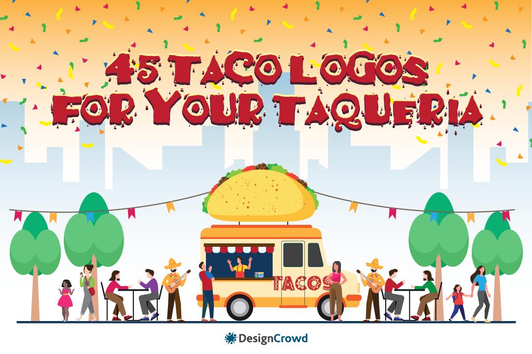 45 Taco Logos for Your Taqueria blog thumbnail