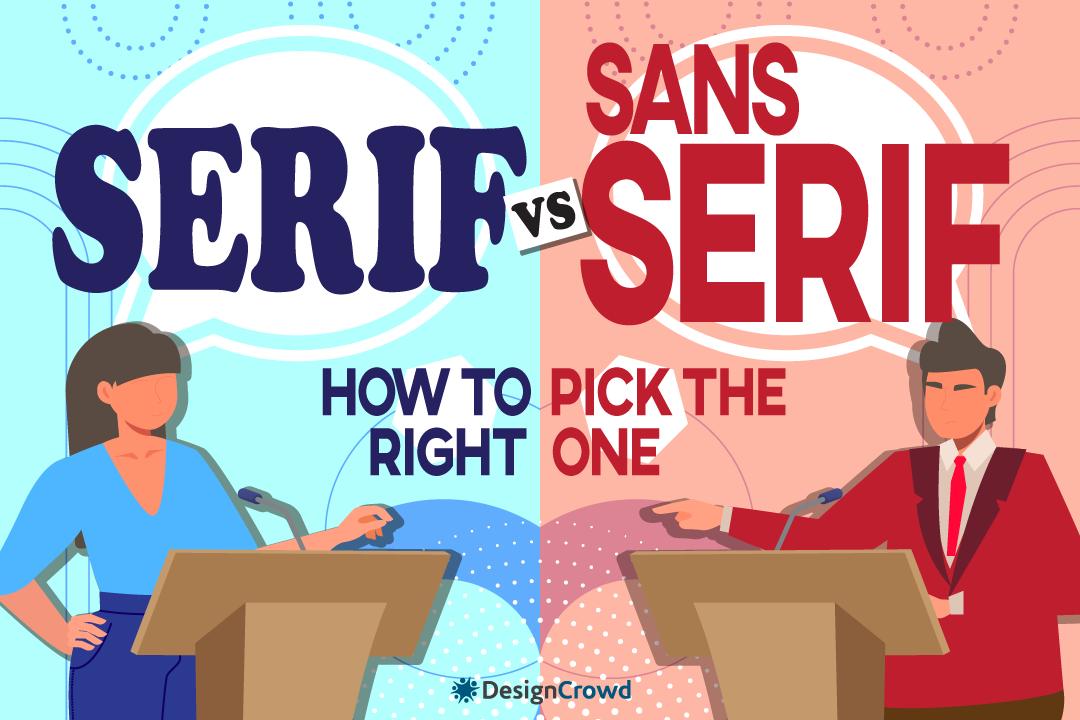 Serif vs. Sans Serif Fonts: How to Pick The Right One blog thumbnail