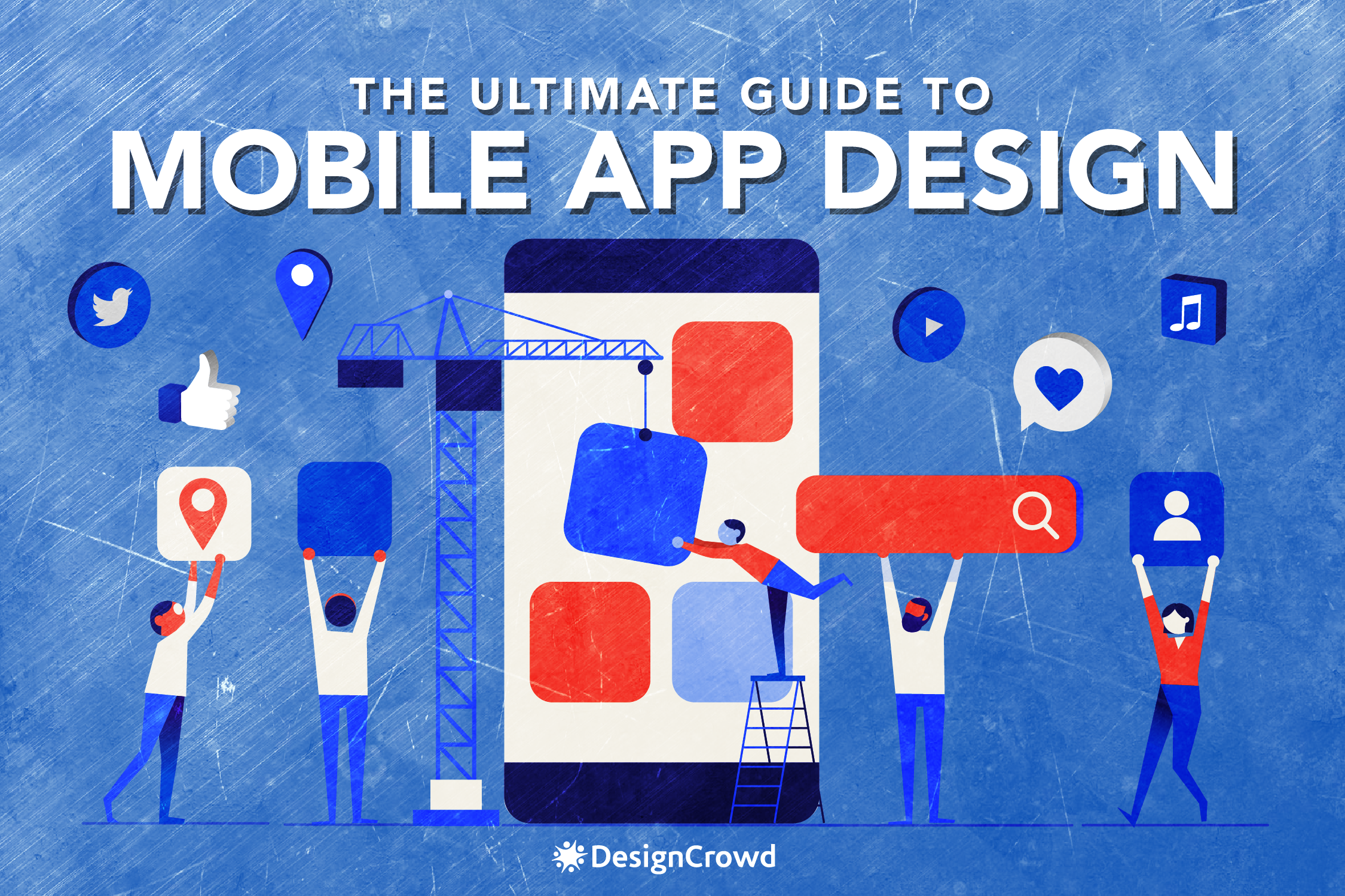 The Ultimate Guide To Mobile App Design blog thumbnail