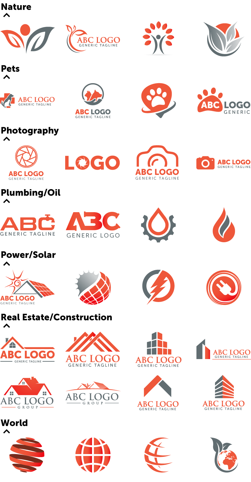 generic common and overused logo concepts and how to