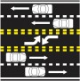 two way roadway center lane
