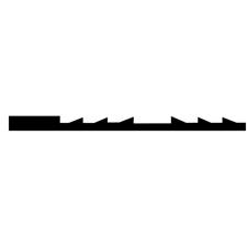 Olson Reverse Skip Tooth Blades