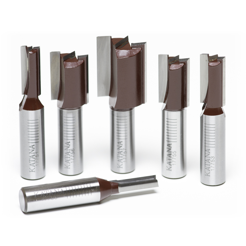 Straight Router Bit Sets