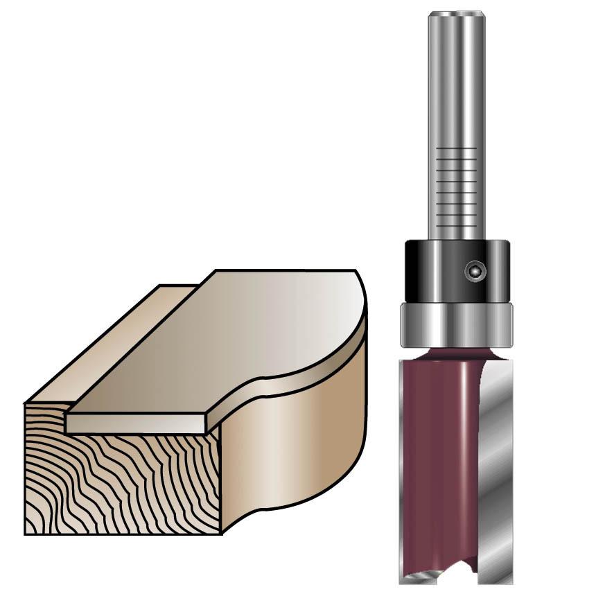 Pattern / Flush Trim Router Bits
