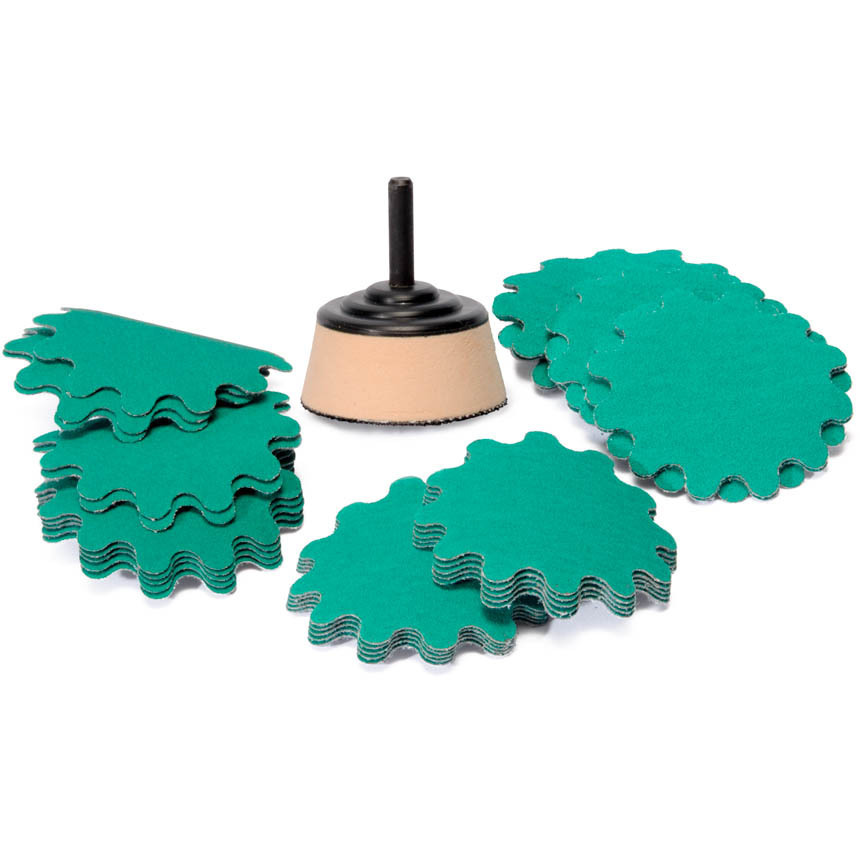 """2"""" Sanding Discs and Kits for Bowls & Trays"""