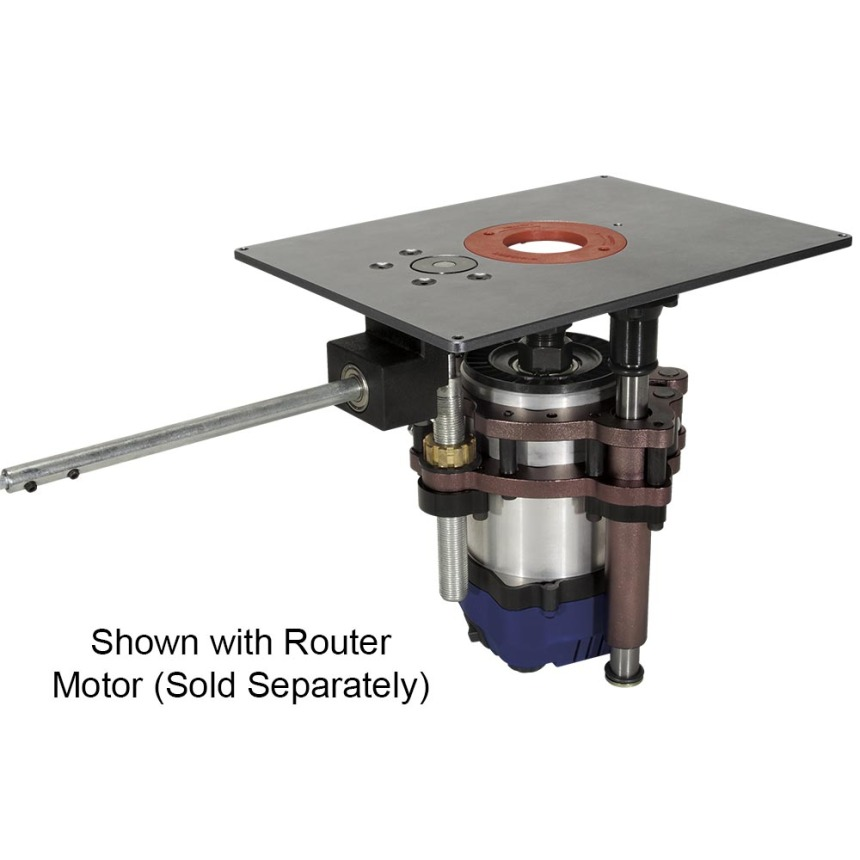 """U-Turn"" Router Lifts and Accessories"