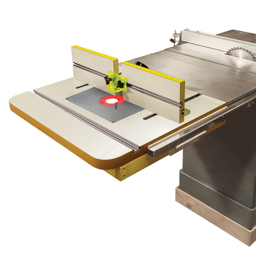 PREMIUM Extension Router Table Top & Fence