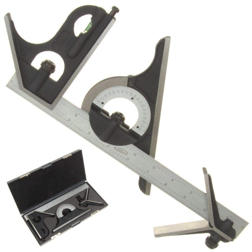 "Premium 4-Piece 12"" 4R Combination Square"