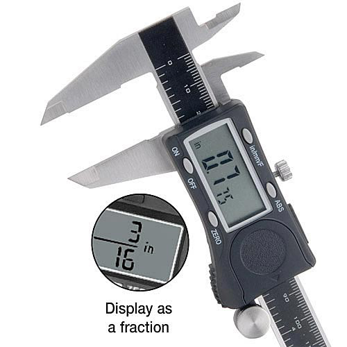 Digital Fractional Caliper 6""