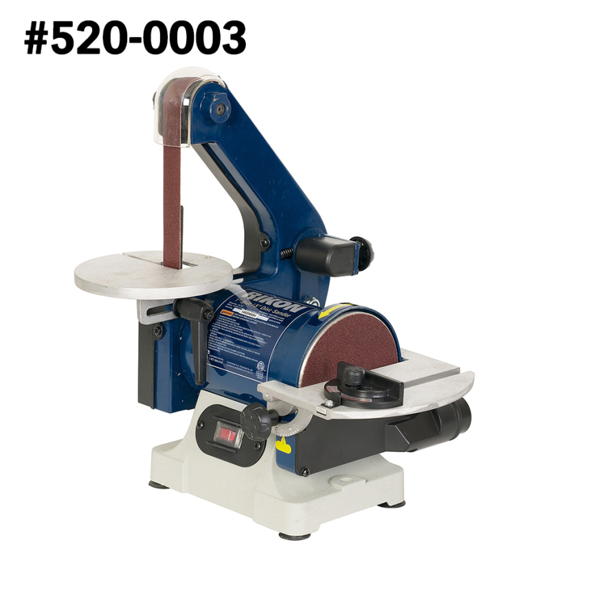 Belt/Disc Sander and Accessories