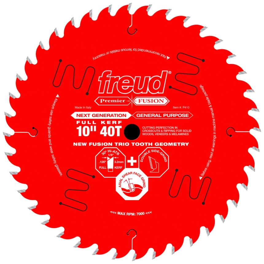 Freud Premier Fusion Blade