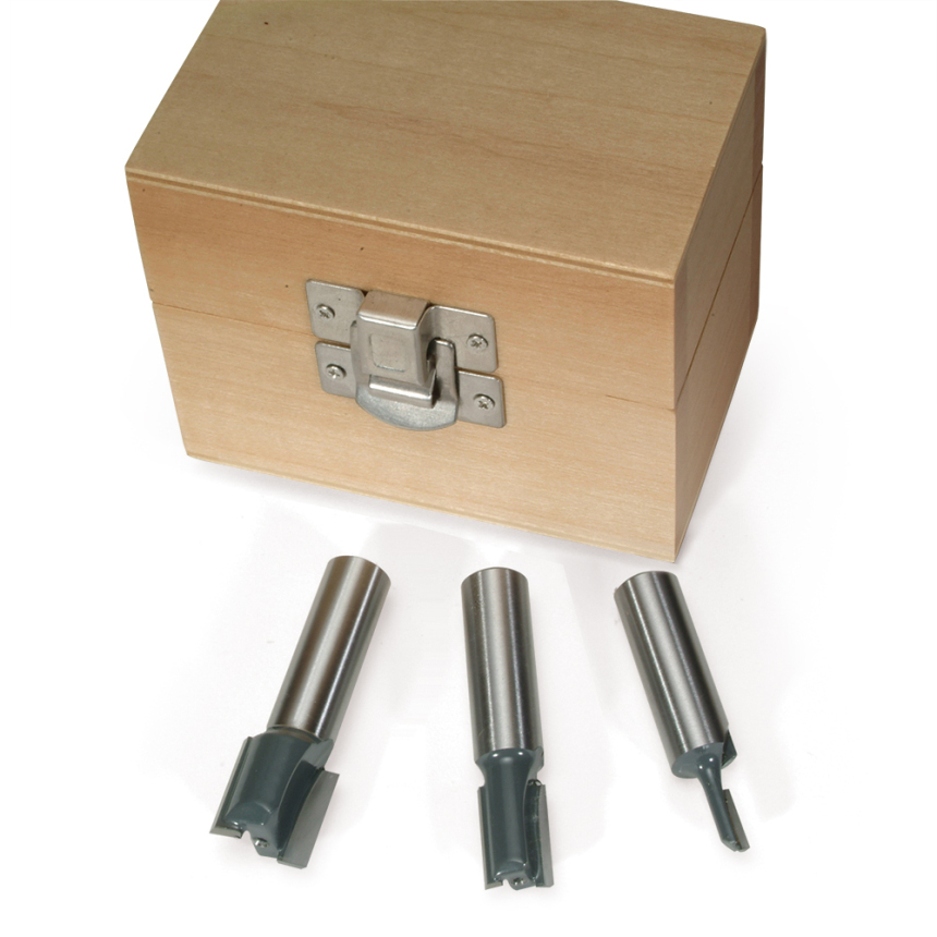 Plywood Straight Router Bit Sets
